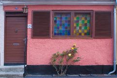 Windows in Maribo Fotografie Stock Libere da Diritti