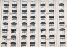 Windows med balkonger Arkivbilder