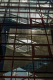 Windows med trappa Fotografering för Bildbyråer