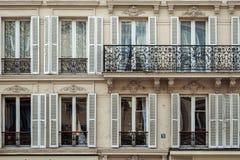 Windows mit Balkon Lizenzfreies Stockbild