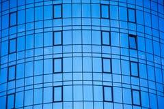 Windows mit dem Himmelhintergrund, abstraktes Design Stockbild