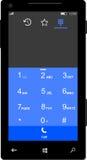 Windows Mobile telefon Zdjęcia Royalty Free