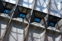 Windows modern architecture Stock Images