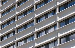 Windows from modern building royalty free stock image