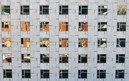 Windows in modern building Royalty Free Stock Images