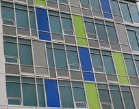 Windows of modern building. Abstract architectural background Stock Photos