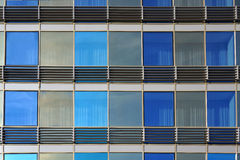 Windows of modern building. Architectural background. Royalty Free Stock Images