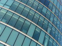 Windows on modern buildings Royalty Free Stock Photo