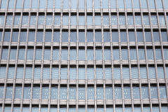 Windows of Modern Business Office Building in downtown. Royalty Free Stock Image