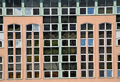Windows of a modern office building Stock Image