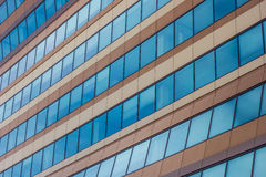 Windows of a modern office building in Groningen Stock Photography