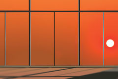 Windows in modern office building Royalty Free Stock Photo