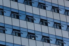 Windows of Modern Office Buildings. In the city Stock Photo
