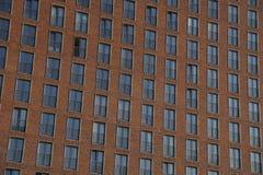 Windows - modernes Wohngebäude Lizenzfreies Stockbild
