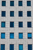Windows of the multi-storey building Stock Images