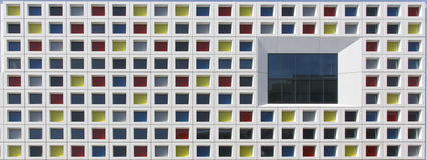 Windows multicolor foto de archivo libre de regalías