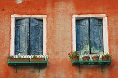 Windows in Murano Stock Photos