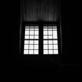 Windows na silhueta Foto de Stock Royalty Free