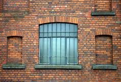 Windows na tle Fotografia Stock