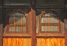 The windows of Nanzenji temple Stock Images