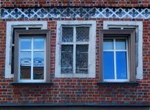 Windows nas janelas Imagens de Stock Royalty Free