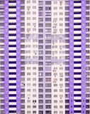 Windows of a new modern high-rise apartment house Stock Images
