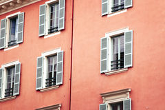 Windows of Nice Royalty Free Stock Image