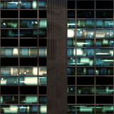 Windows at night Royalty Free Stock Photos