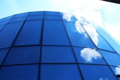 Windows no céu Fotografia de Stock