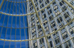 Windows no mundo Foto de Stock