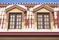 Windows nordico Immagini Stock Libere da Diritti