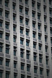 Windows Nowożytny Biznesowy budynek biurowy w śródmieściu Obraz Royalty Free