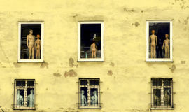 Windows and Objects People Stock Images