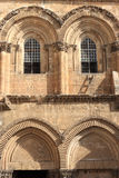 Windows Of Church Of The Holy Sepulchre Royalty Free Stock Images