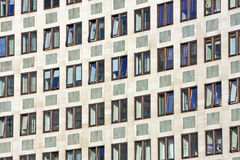 Windows in Office block stock photo