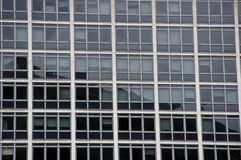 Windows. Office block windows in manchester Stock Photography