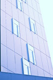 Windows from office building Royalty Free Stock Images