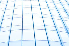 Windows from office building Stock Image