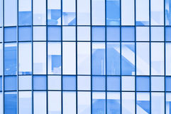 Windows from office building Stock Photos