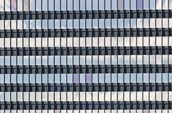 Windows in an office building Stock Images