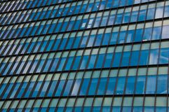 Windows of an office building Stock Image