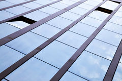 Windows of office building Royalty Free Stock Photos