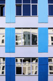 Windows office building for background. In Moscow Stock Images