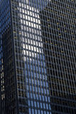 Windows On An Office Building Royalty Free Stock Image