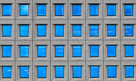 Windows of office building, Copenhagen Royalty Free Stock Photo