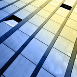 Windows of office building Stock Images
