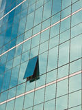 Windows of office buildings. Royalty Free Stock Images