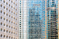 Windows of office buildings Stock Photos