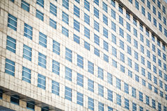 Windows of office buildings Stock Image