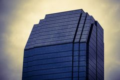 Windows of office buildings, cool business Royalty Free Stock Photo